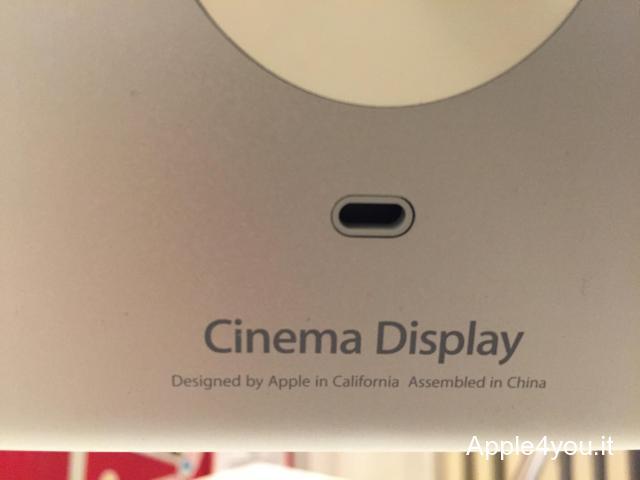 Apple Cinema Display Alluminium 20 pollici