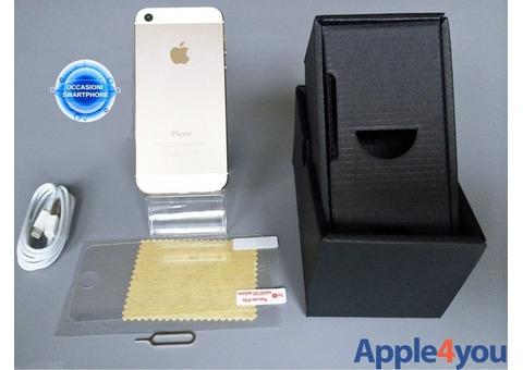 Iphone 5S 16GB ORO GOLD Originale Garanzia Accessori