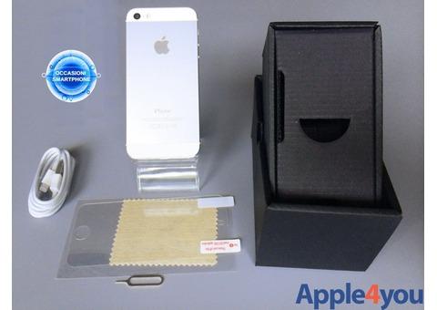 Iphone 5S 16GB Silver Argento Originale Garanzia