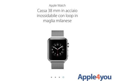 Super offerta iPhone watch 38mm . Nuovo!!!!!