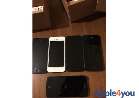 Iphone 5 Nero/Bianco Usato originale 16gb