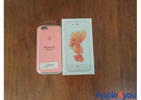 Iphone 6S 128 gb Rose Gold Nuovo e incellophanato + cover