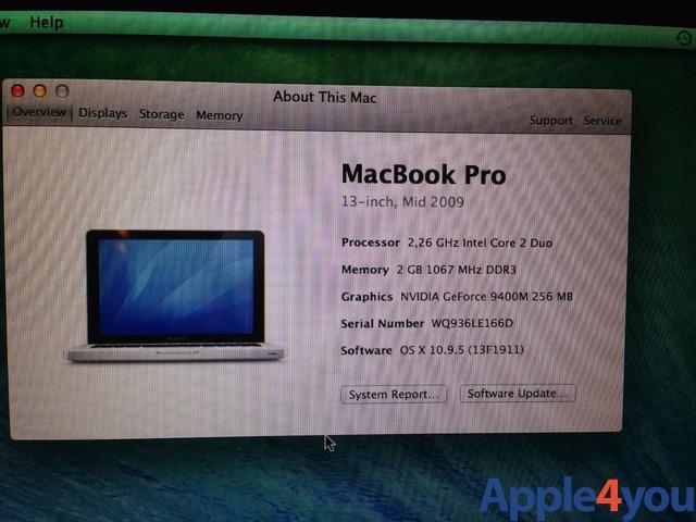 Mac book pro13